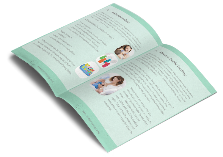 Creative Coping Immunisations ebook preview.
